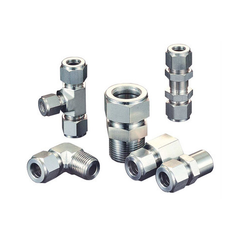 Stainless Steel Hydraulic Fittings for Structure Pipe, Packaging Type: Box