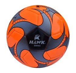 PVC Hawk Swing Neon Orange Soccer Ball