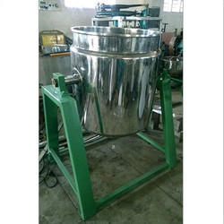 Selvin Kettle Machine, Capacity: 50 kg to 1 Ton