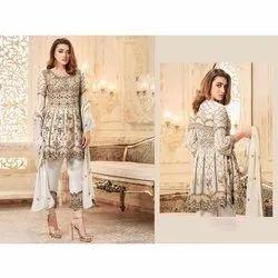 Wedding Wear Pakistani Salwar Kameez with Heavy Embroidered Work