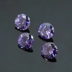 Cubic Zirconia Color Round