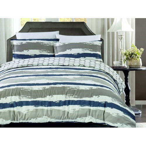 Riya Enterprise Designer Splash Dash Printed Bed Sheet Set