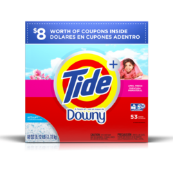 Tide Plus A Touch Of Downy Powder