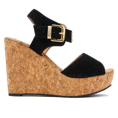 46f6f656081 Black Women Wedges Sandals