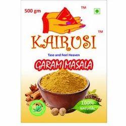 Kairusi Garam Masala, Packaging Size: 500 g, Packaging Type: Packets