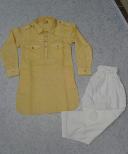 Boys Cotton Ethnic Baba Suit