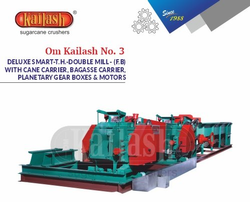 Sugarcane Crusher No.3 Deluxe Smart Double Mill With Cane Carrier