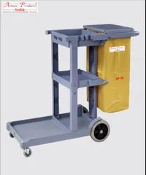 Janitor Cart Multi Function Trolley