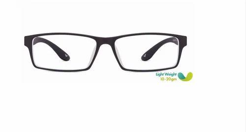 78dd406eaa Men Eyeglasses - Matte Black Red Full Rim Rectangle Medium Eyeglasses  Retailer from Hyderabad