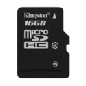 Kingston 16 Gb Memory Card, For Tablet, Memory Size: 16gb