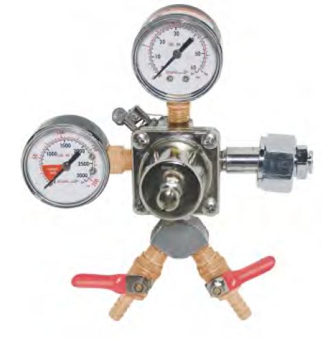 Krome Dispense Precision Primary CO2 Regulator-2 Outlet | ID