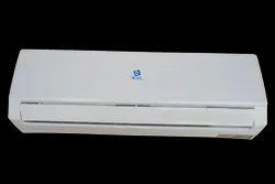 Rotary Compressor White Split Air Conditioner Indoor Unit, Capacity: 1.5 Ton, Coil Material: Copper