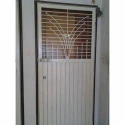 Galvanized Steel Front Safety Door