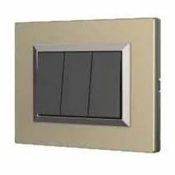 Acacia Series Champagne Gold Switch Plate