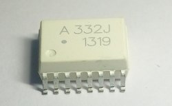 ACPL- 332J SMD SO16 / A332J Integrated Circuit