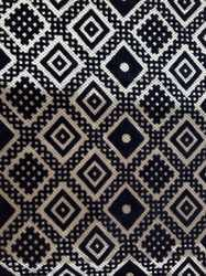 Printed 100 % polyester Flock Sofa Fabric, For Upholstery, GSM: 100-150