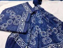 Hand Block Print Cotton Suit Material