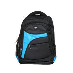 Infinit Laptop Backpack Black Sky Blue Color