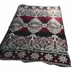 Printed Cotton Rug, Size: 5 X 7 Inch