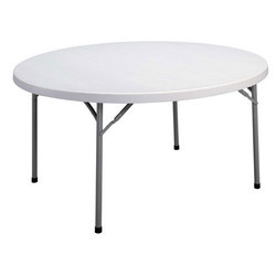 Round Folding Plastic Table