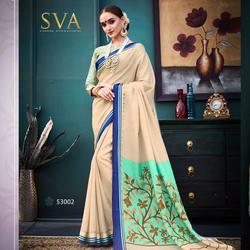 Fancy Kalamkari Cotton Saree