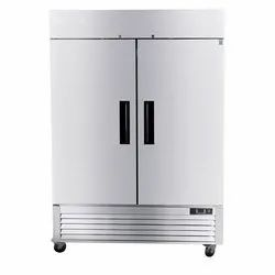 Stainless Steel Two Door Commercial Refrigerator