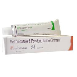 Povidone Iodine Metronidazole Aloe Vera Ointment Cream