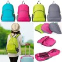 Plain Polyester Travel Folding Capacity Mountaineering Outdoor Backpack Travel Bags