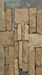 Brown Stacking Stone Wall Cladding