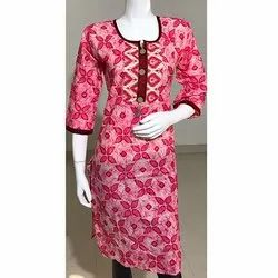 Formal Wear Printed Kurti