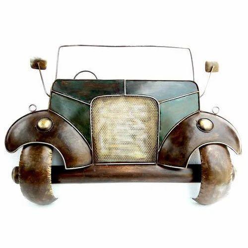 Vintage Jeep Car Wall Decor Wall Hangings Iron Handicraft ...