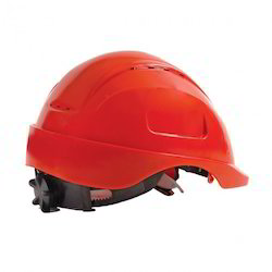 Red Head Protection Freedom Helmet, for Construction