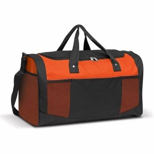 Plain Polyester Duffel Bag 13ea9aeb82656