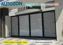 Automatic Aluminium Sliding Gate