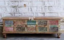 Indian Carved Furniture - Storage Trunks and Chests