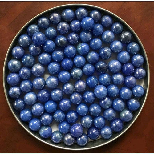 Blue Round Balls Opaque Glass Marbles Rs 22 Pack Singh