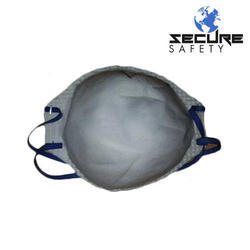 Non-Woven White Nonwoven Disposable Dust Face Mask, Packaging Type: Box