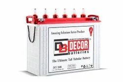 Decor 12v 240 AH Tall Tubular Battery With 48 Months Warranty
