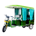 Gev Dabang Battery Operated E Rickshaw, Vehicle Capacity: 6 Seater