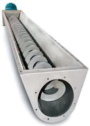 Stainless Steel Screw Conveyor with Steaming Tunnel