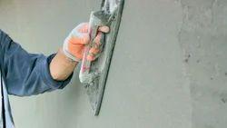 Industrial Panel Build Plastering Work