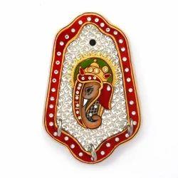 Meenakari Painted Ganesha Key Holder 375