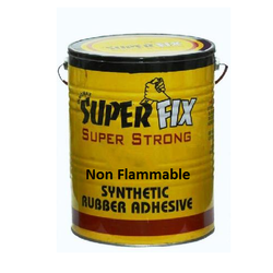 Non Flammable Rubber Adhesive, Grade Standard: Industrial Grade