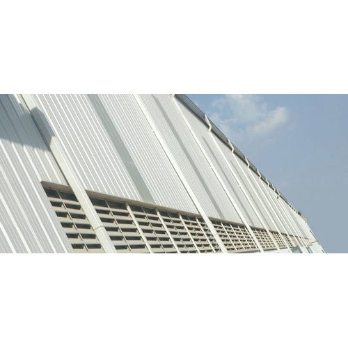 Color Coated White Puf Panel Roofing Sheet Thickness Of Sheet 30 Mm Rs 250 Square Feet Id 21337626730