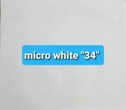 Micro White 34 Cotton Fabric
