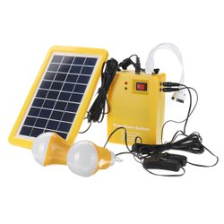 12 V DC Solar Home Light