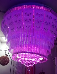 LED Glass Jhoomer