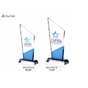Glass Blue Peak Trophies
