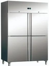 Stainless Steel 3 Star Celfrost 4 Door Vertical Refrigerator, Model Name/Number: GN1410 TNM, Capacity: 1200 ltrs