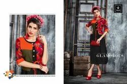 Vragi Love Series 3001-3006 Stylish Party Wear Rayon Kurti